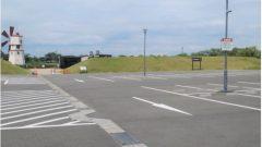 BBQ・持込テントサイト駐車場へのアクセス